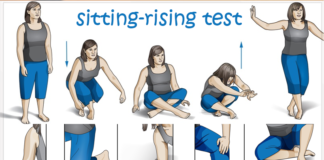 sitting-rising test